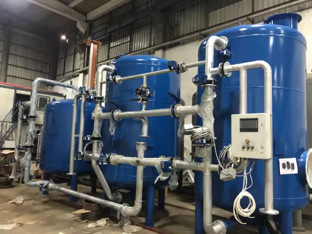 Tandem Water Softening Systems